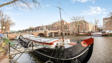 Woonschip, Oudeschans 44 Amsterdam