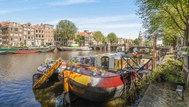Woonboot, Oudeschans 47 Amsterdam