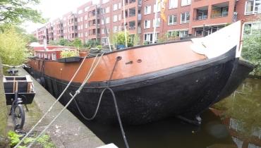 Woonschip, Lijnbaansgracht 43 Amsterdam