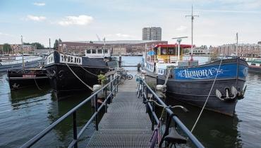 Woonschip, Ertskade 354 Amsterdam